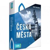Albi Pocket quizzes Czech cities 50 cards, age: 12+
