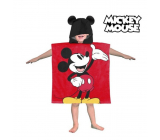 Mickey Poncho Hooded Towel - Approx. dimensions: 60 x 120 cm
