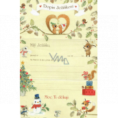 Ditipo Letter to Santa Squirrel 195 x 290 mm