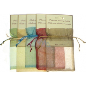 Drawstring gift bag 10 x 15 cm various colors