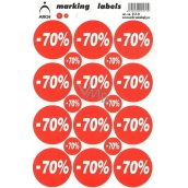 Arch Discount Labels -70%