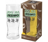 Albi My Bar Beer mug I go to one 500 ml