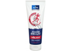Alpa Sport Star Start before performance Warm massage emulsion with ginger and herbal extracts 210 ml