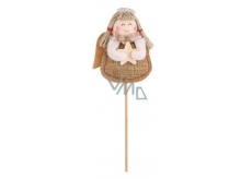 Angel jute recess 7 cm + skewers no.2