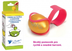 Decorating eggs with holder set