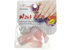 Artificial nails 806 pink straight FM 6030