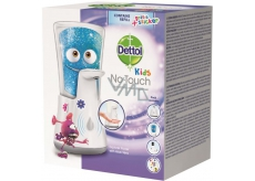 Dettol Kids Aloe Vera Dobrodruh non-contact soap dispenser and soap refill 250 ml