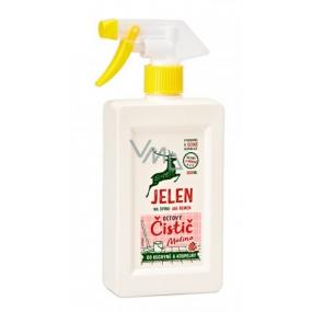 Deer Vinegar cleaner Raspberry, kitchen and bathroom on limescale and stubborn dirt 500 ml