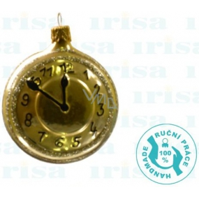 Irisa Flask clock gold 6,5 cm