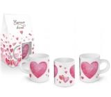 Albi Espresso mug in a box I love you 100 ml