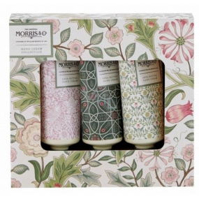 Heathcote & Ivory Jasmine & Green Tea nourishing hand and nail cream 3 x 30 ml, cosmetic set