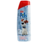 The secret life of pets 2in1 shower gel and bath foam for children 400 ml