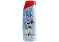 Tajný život mazlíčků 2v1 sprchový gel a pěna do koupele pro děti 400 ml