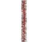 Řetěz vánoční, červený délka 200 cm