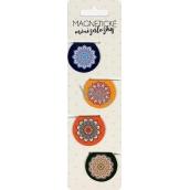 Albi Magnetic Mini Tabs Mandala 4 pieces