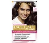 Loreal Paris Excellence Creme hair color 200 Black-brown