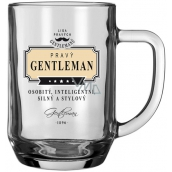 Neutro League of Real Gentlemen Beer glasses NHE 003 Genuine GENTLEMAN - individual, intelligent, strong and stylish