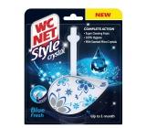 WC Net Crystal Style Blue Fresh curtain 36.5 g