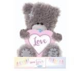 Me to You Teddy Bear Love heart 14 cm