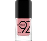 Catrice ICONails Gel Lacque nail polish 92 Nude Not Prude 10.5 ml
