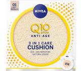 Nivea Q10 Plus Anti-Age Cushion 3 in 1 caring toning cream in a sponge 01 Light Medium 15 g