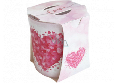 Admit Verona Love - Love scented candle in glass 90 g