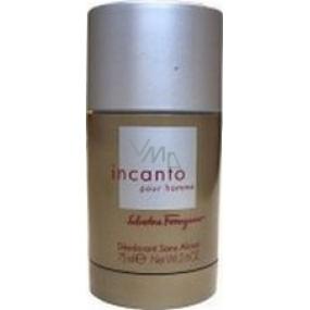 Salvatore Ferragamo Incommo Homme deodorant stick for men 75 ml