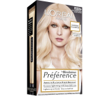 Loreal Paris Préférence Extreme Platinum extremely lightening hair color with care against rusty tones