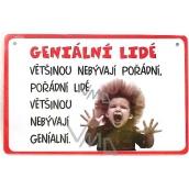 Nekupto Humor po Česku humorná cedulka 024 15 x 10 cm 1 kus