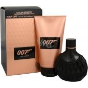 James Bond 007 for Women fragrance water for women 50 ml + body lotion 150 ml, gift set