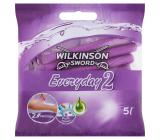 Wilkinson Essentials 2 disposable razor 2 blades 5 pieces