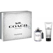 Coach Platinum perfumed water for men 60 ml + shower gel 100 ml, gift set