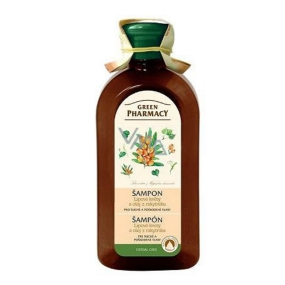 Green Pharmacy Linden Flowers and Sea Buckthorn Oil Shampoo for Dry and Damaged Hair 350 ml