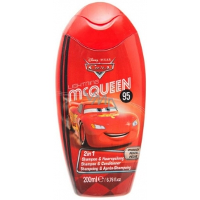 Disney Cars McQueen 2in1 shampoo and conditioner 200 ml