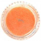 Professional Nail polish glitter orange 132