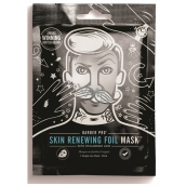 Barber Pro Facial Mask with Renewal Warm Film with Hyaluronic Acid and Coenzyme Q10 for Men 25 ml