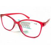 Berkeley Reading glasses +1.0 plastic red 1 piece MC2191