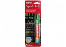 Apli Chalk marker round tip green 5.5 mm