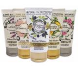 Jeanne en Provence Lavender hand cream 75 ml + Peony fairy hand cream 75 ml + Olive hand cream 75 ml + Verbena and lemon hand cream 75 ml + Captivating rose hand cream 75 ml, cosmetic set
