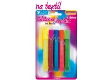 Glitter adhesive for rainbow textiles 5 x 10.5 ml