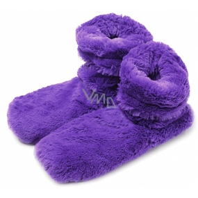 Albi Hřejivé botičky fialové 1 pár