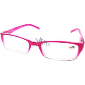 Berkeley Čtecí dioptrické brýle +4,0 růžové 1 kus MC2147