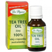 Dr. Popov Tea Tree Oil 100% pure Australian tea tree oil, with antiseptic effects of 25 ml