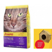 Josera Culinesse Chicken meat + salmon complete food for adult cats living indoors and outdoors 2 kg + house for cats