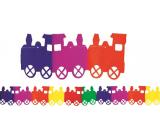 Garland Train color 400 x 18 cm