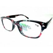 Berkeley Reading glasses +1 plastic black-red 1 piece MC2197