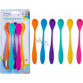 First Steps Spoon for toddlers from 6 months long 5 pieces