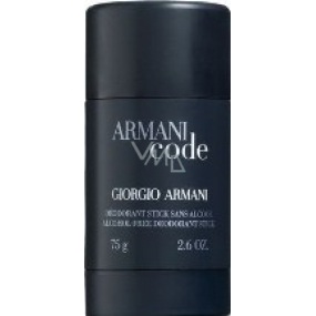 Giorgio Armani Code Men 75 ml men's deodorant stick