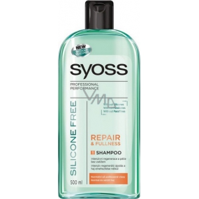 Syoss Repair & Fullness Silicone Free silicone-free hair shampoo 500 ml