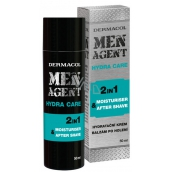 Dermacol Men Agent 2in1 Moisturizing gel, cream and aftershave 50 ml